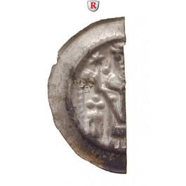 Hildesheim, Bistum, Konrad II., Brakteatenhälfte, vz