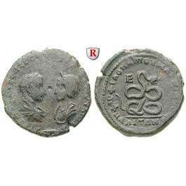 Römische Provinzialprägungen, Thrakien-Donaugebiet, Markianopolis, Severus Alexander, Bronze, s/ss