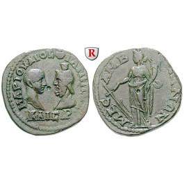 Römische Provinzialprägungen, Thrakien, Mesembria, Philippus II., Bronze, ss