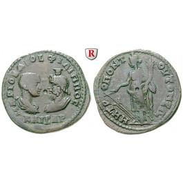 Römische Provinzialprägungen, Thrakien, Mesembria, Philippus II., Bronze, f.ss