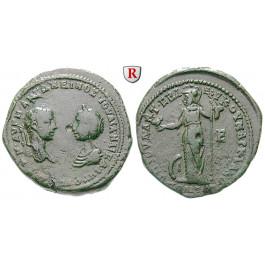 Römische Provinzialprägungen, Thrakien-Donaugebiet, Markianopolis, Julia Maesa, Großmutter des Elagabal, Bronze, ss