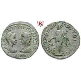 Römische Provinzialprägungen, Thrakien, Tomis, Tranquillina, Frau Gordianus III., Bronze, f.ss