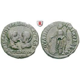 Römische Provinzialprägungen, Thrakien, Anchialos, Tranquillina, Frau Gordianus III., Bronze, f.ss