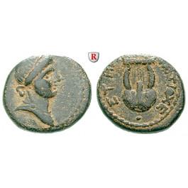 Römische Provinzialprägungen, Seleukis und Pieria, Antiocheia am Orontes, Autonome Prägungen, Bronze 108 = 59-60 n.Chr., ss-vz