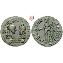 Römische Provinzialprägungen, Thrakien, Mesembria, Philippus II., Caesar, 5 Assaria, f.vz