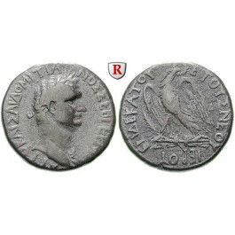 Römische Provinzialprägungen, Seleukis und Pieria, Antiocheia am Orontes, Domitianus, Tetradrachme Jahr 11 = 90-91, ss