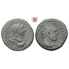Römische Provinzialprägungen, Phönizien, Tyros, Traianus, Tetradrachme 110-111, ss