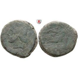Römische Republik, Anonym, As, f.ss