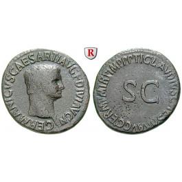 Römische Kaiserzeit, Germanicus, As 37-54, ss