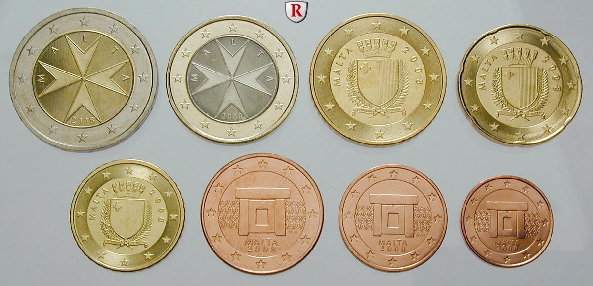 Euro Münzen Malta