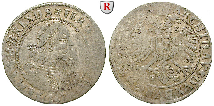 Römisch Deutsches Reich, Ferdinand II., 24 Kreuzer