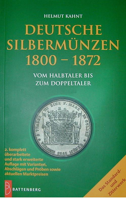 Deutsche Münzen Kahnt Taler 1800 1872