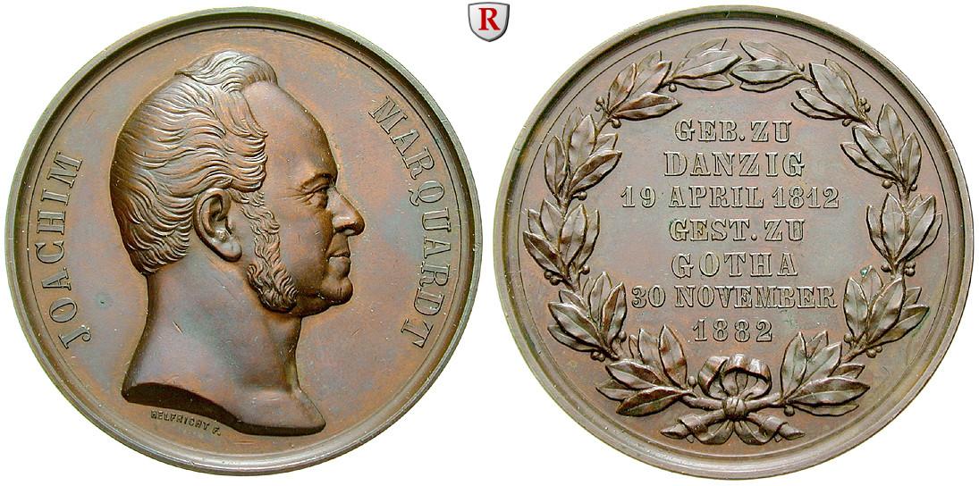 - 42243-personenmedaillen-marquardt-karl-joachim-deutscher-historiker-bronzemedaille-1882-prfr