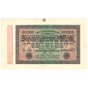 Inflation 1919-1924, 20000 Mark 20.02.1923, II, Rb. 84f
