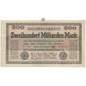 Inflation 1919-1924, 200 Md Mark 15.10.1923, II, Rb. 118a