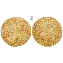 Grossbritannien, Henry IV., Noble 1399-1412 (Heavy coinage), ss-vz