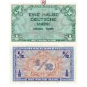 Bundesrepublik Deutschland, 1/2 DM 1948, I-, Rb. 230