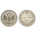 Russland, Alexander II., 10 Kopeken 1859, ss