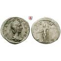 Römische Kaiserzeit, Julia Maesa, Großmutter des Elagabal, Denar 218-222, ss