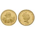 Pitcairn Inseln, 5 Dollars 2005, 1,24 g fein, PP