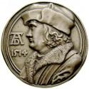 Personenmedaillen, Dürer, Albrecht - Deutscher Künstler, Zinnmedaille, versilbert, vz