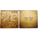 Gewerbe, Handel, Industrie, Vergoldete Bronzeplakette o.J. (1951), st