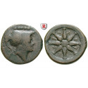 Italien-Apulien, Luceria, Quincunx 211-200 v.Chr., f.ss