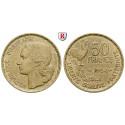 Frankreich, IV. Republik, 50 Francs 1954, ss-vz