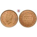 Indien, Britisch-Indien, George V., 1/4 Anna 1939, f.st