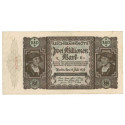 Inflation 1919-1924, 2 Mio Mark 23.07.1923, II, Rb. 89a