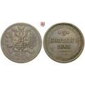 Russland, Alexander II., 5 Kopeken 1863, ss