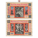 Notgeld der besonderen Art, Bielefeld, 500 Mark 21.10.1922, I