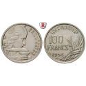 Frankreich, IV. Republik, 100 Francs 1954, vz-st