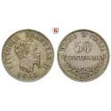 Italien, Königreich, Vittorio Emanuele II., 50 Centesimi 1863, ss-vz