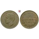 Italien, Königreich, Umberto I., 2 Centesimi 1906, vz-st