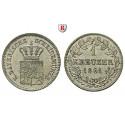Bayern, Königreich, Maximilian II., Kreuzer 1861, f.st