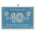 Kleingeldscheine der Landesregierungen, 10 Pfennig 1947, I, Rb. 209d
