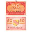 Kleingeldscheine der Landesregierungen, 50 Pfennig 1947, I-, Rb. 210
