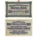 Darlehnskasse Ost, Kowno, 50 Mark 04.04.1918, II, Rb. 469