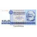 DDR, 100 Mark 1975, I, Rb. 363a