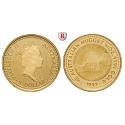 Australien, Elizabeth II., 5 Dollars seit 1986, 1,56 g fein, st