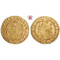 Ungarn, Ludwig I., Goldgulden o.J. (1342-1353), f.vz
