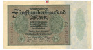 Inflation 1919-1924, 500000 Mark 01.05.1923, II, Rb. 87b
