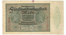 Inflation 1919-1924, 500000 Mark 01.05.1923, III, Rb. 87e