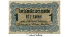 Darlehnskasse Ost, Posen, 1 Rubel 17.04.1916, III, Rb. 459c
