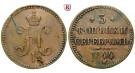 Russland, Nikolaus I., 3 Kopeken 1844, ss