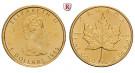 Kanada, Elizabeth II., 5 Dollars seit 1982, 3,11 g fein, st