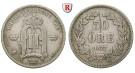 Schweden, Oskar II., 50 Öre 1877, ss