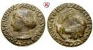 Personenmedaillen, Malatesta, Sigismondo Pandolfo - Italienischer Adliger, Bronzemedaille 1447, f.ss