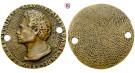 Personenmedaillen, Briosco, Andrea - Italienischer Bildhauer, Einseitige Bronzemedaille, ss